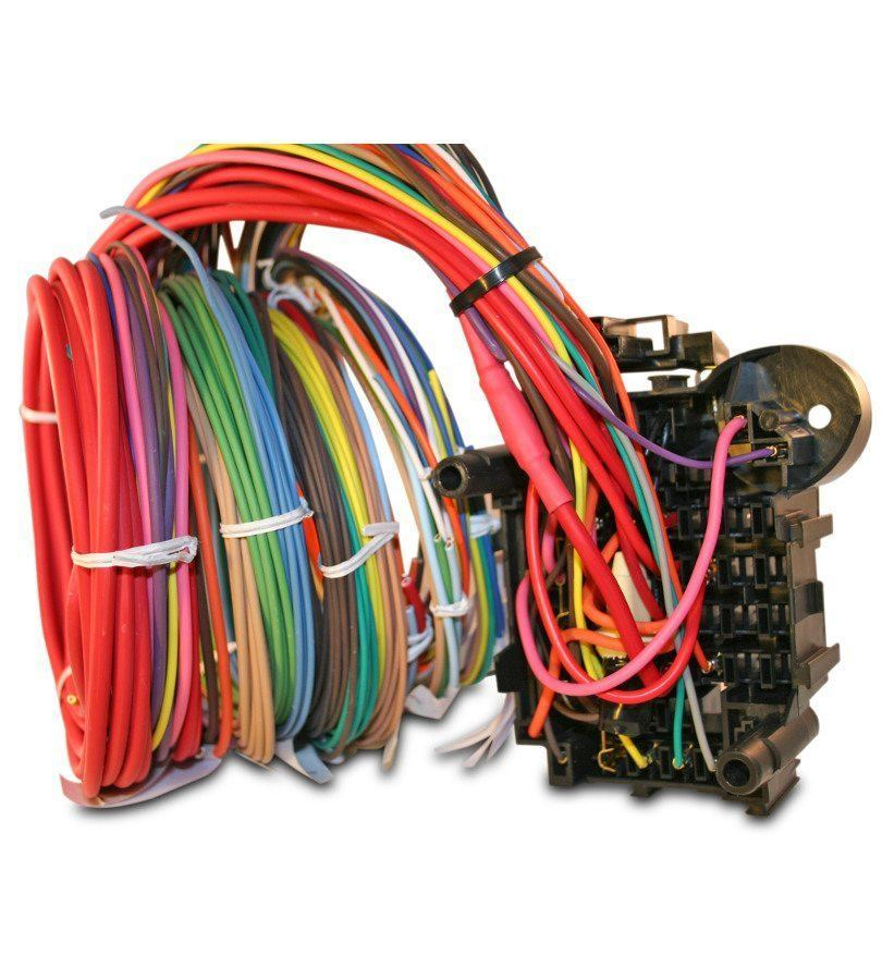 12 circuit harness terminal rear 810x900 universal 12 circuit auto wiring harness hotrodwires com how to solder wiring harness at creativeand.co