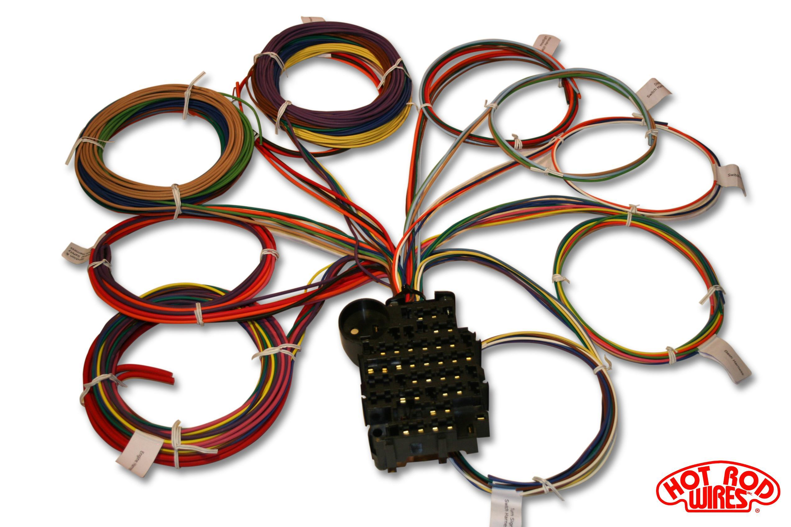 18 circuit harness overhead universal 18 circuit auto wiring harness hotrodwires com hot rod wiring harness universal at mifinder.co