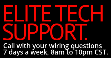 Call us with your wiring questions 8am to 10pm 7 days a week.