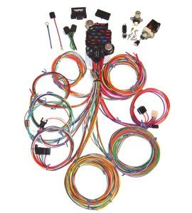 Universal 24 Circuit Auto Wiring Harness | HotRodWires.com on universal car covers, universal tools, universal electronics, universal fuel tanks,